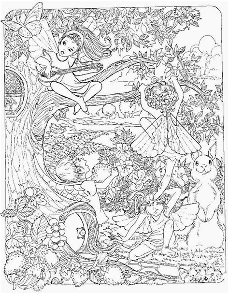 coloring page of fairy printable adult fairies coloring pages coloring home