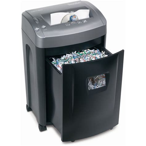 paper shredder swordfish 1500xcd 4x25mm cross cut shredder 45011
