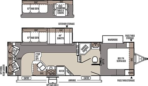 flagstaff travel trailers floor plans access rv