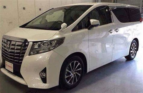 Spion Toyota Alphard toyota alphard pix of third generation mpv leaked