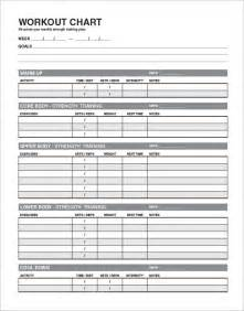 workout timetable template 4 workout schedule templates