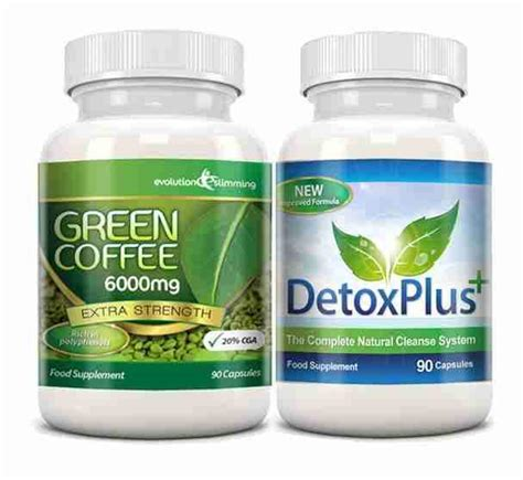 Green Coffee Detox Natures by Green Coffee Detox Cleanse Pack 6000mg Green Coffee
