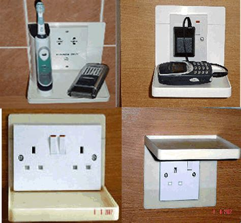 bathroom plug socket transform any plug socket into a really useful shelf