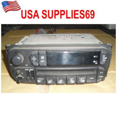 2004 Jeep Grand Radio Usa Supplies69 Jeep Grand 2004 Stereo Cd Player