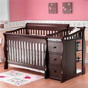 4 In 1 Convertible Crib With Changing Table Sorelle Tuscany 4 In 1 Convertible Crib And Chan Target