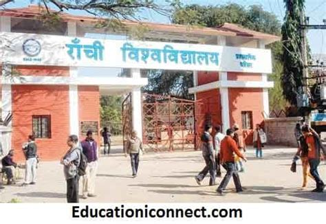 Ranchi Mba Fees by Ranchi Ug Pg Courses Fee Structure 2018 With
