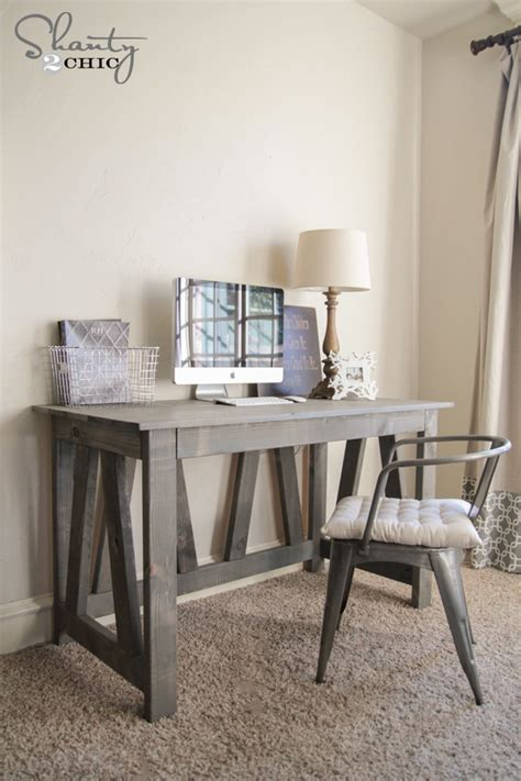 rustic truss desk free plans rogue engineer