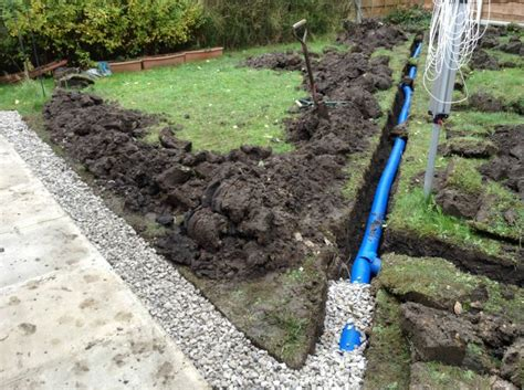 dorset garden drainage solutions pmb landscapes in whitchurch pipe laying commercial the
