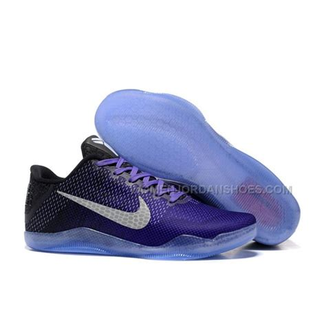 kobes shoes for nike 11 purple black basketball shoes price 103