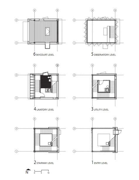 Architecture House Plan gallery of flashback towerhouse marlon blackwell
