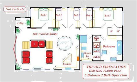 small fire station floor plans small fire station floor plans best free home design