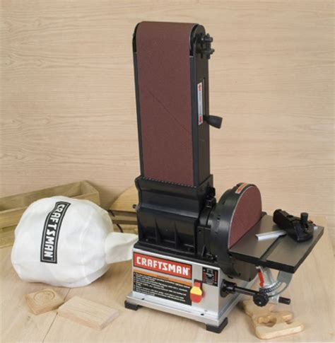 craftsman bench sander craftsman 21757 6 x 9 in belt disc sander with