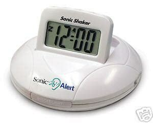 deaf alarm clock ebay