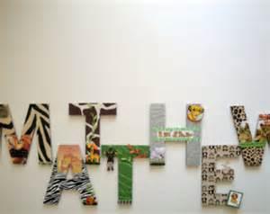 king simba 8 quot 3d custom nursery wall letters