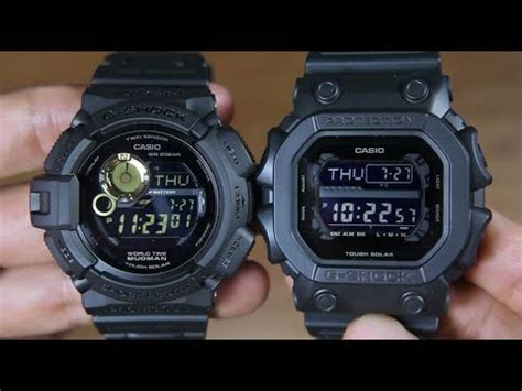 Casio G Shock Gx 56bb 1dr Original casio g shock mudman g 9300gb 1 vs g shock gx 56bb 1a
