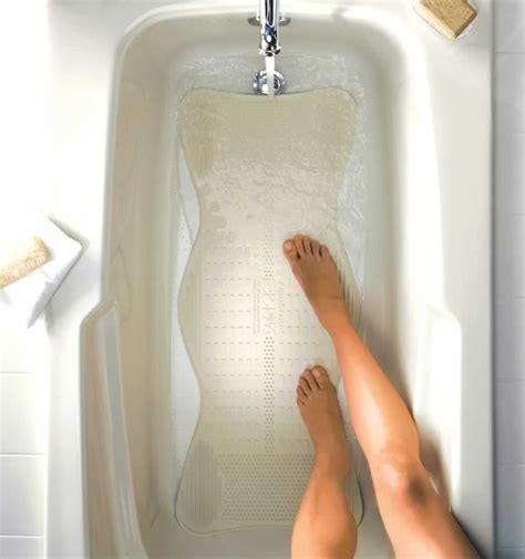 bathtub massager bath mat with invigorating massage zones by aquasense 174 aquasense 174