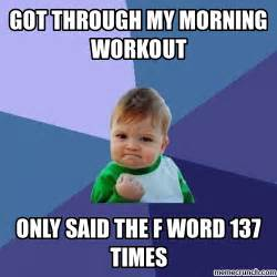 Working Out Memes - morning workout meme bing images