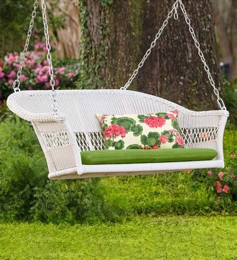trully outdoor wicker swing chair 17 best ideas about wicker swing on pinterest black