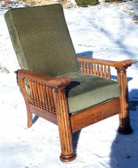 antique recliner chair upholstery work repair reupholstery work