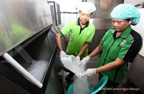 Lu Gantung Untuk Pabrik menangkap kilau cuan dari pabrik es
