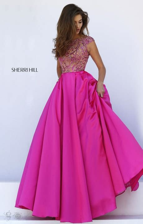 sherri hill  eloise gown prom dress