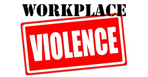 A Place Of Violence Workplace Violence 1 The Scope Of The Problem Security Guard Services In Los Angeles