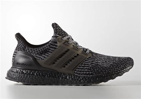 Sepatu Sneakers Adidas Ultra Boost 3 0 Black Gradepremium 40 44 adidas ultra boost 3 0 black ba8923 sneakernews