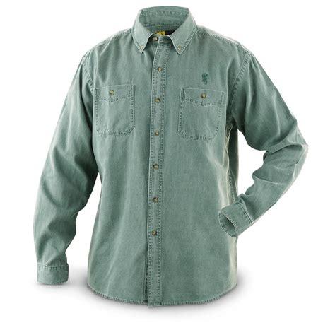 Corduroy Sleeve Shirt s browning sleeved corduroy shirt 593769
