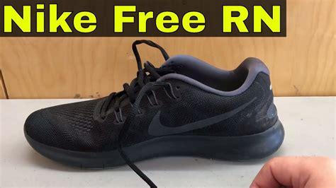 Black Review nike free rn 2017 all black review
