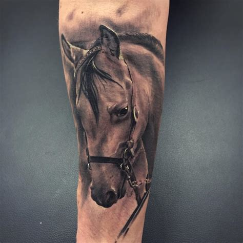 horse head tattoo 50 3d tattoos meanings and ideas