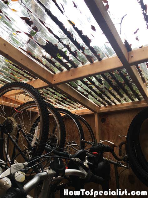 diy  bike shed howtospecialist   build step