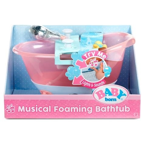 baby born bathtub baby born musical foaming bathtub target