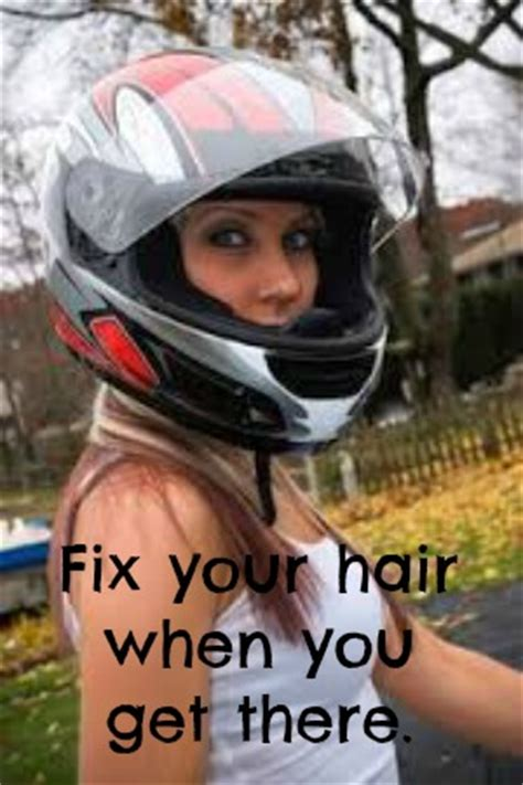 motorcycle hairstyles how do you wear your hair her the only 10 reasons to wear a motorcycle helmet