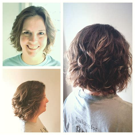 poctures of a spiral perm on chin length layered hair perms for chin length bobs spiral perm on bob length hair