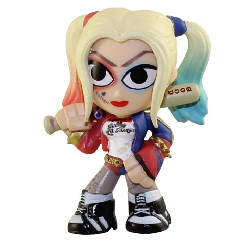 Sale Topi Baseball Squad Harley Quinn funko mystery minis vinyl figure squad harley quinn with bat bbtoystore toys