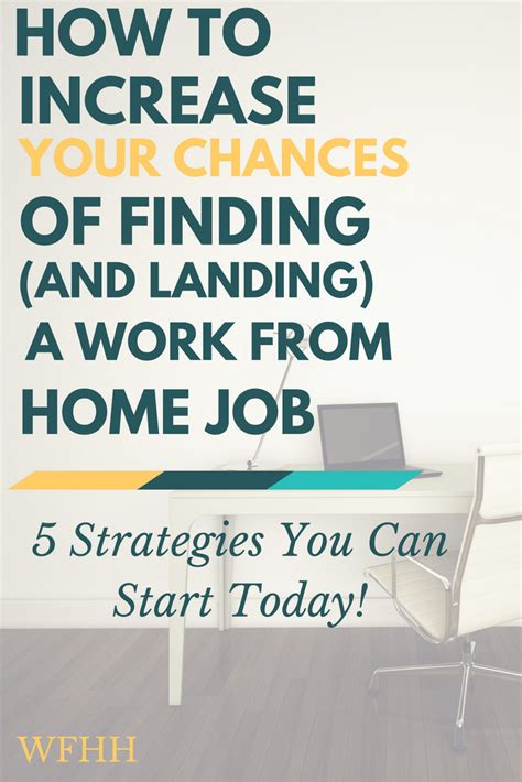 increase your chances of finding landing a work from