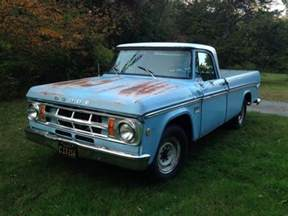 1969 Dodge Truck 1969 Dodge D200 Sweptline 3 4 Ton Truck For Sale In