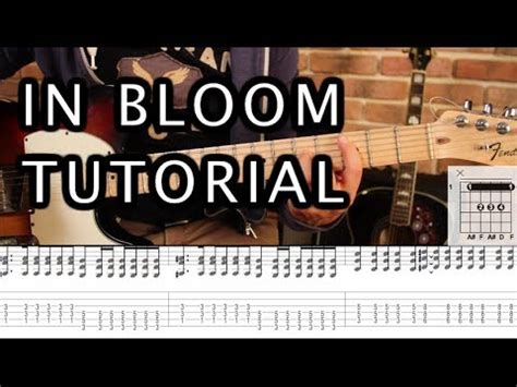 youtube tutorial nirvana nirvana in bloom tutorial guitarra parte 1 guitar