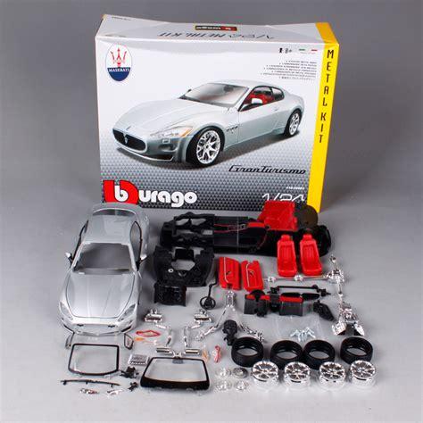 Modellbausatz Auto by Maisto Bburago 1 24 Maserati Gt Gran Turismo Assembly Diy