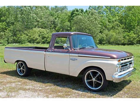1966 Ford F100 For Sale by 1966 Ford F100 For Sale Classiccars Cc 801483