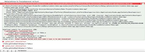 sqlite tutorial for xcode iphone error compiling sqlite project in xcode stack
