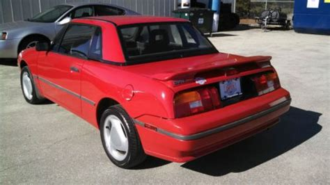 car engine repair manual 1992 mercury capri electronic throttle control sell used 1992 mercury capri xr2 convertible 2 door 1 6l red manual in north windham