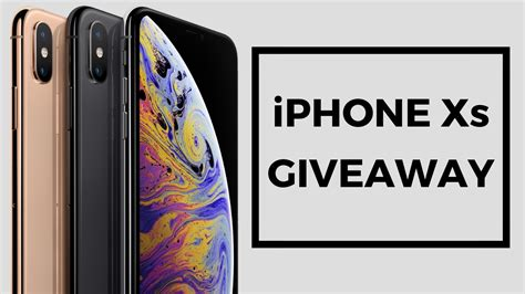 iphone giveaway enter to win an iphone xs winner announced