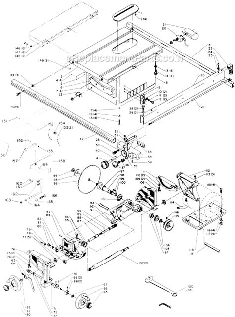 delta 34 600 parts list and diagram type 1