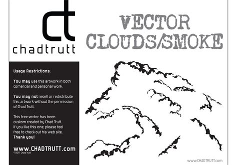 vector clouds smoke   vector art stock