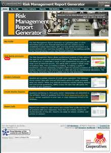 Risk Reporting Template risk management report generator cu answers advisor