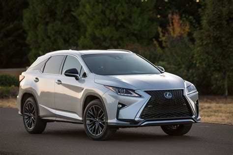 lexus rxf 2016 lexus rx detailed in the us through 137 new photos