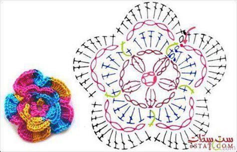 tutorial hiasan rajut pola bunga rajut maya crafts