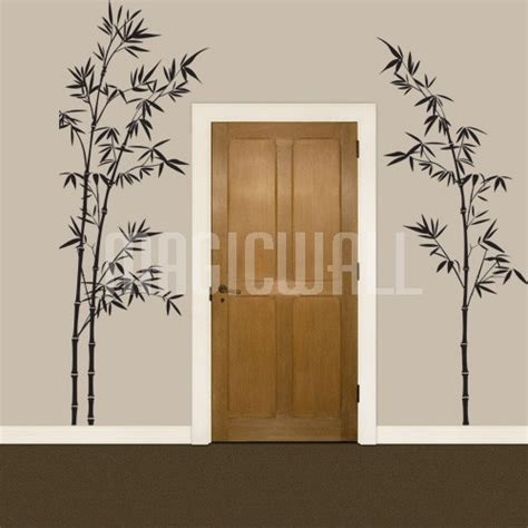 bamboo wall stickers pin bamboo tree wall decals hd on