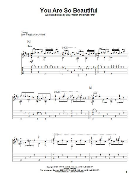 tutorial piano you are so beautiful you are so beautiful by joe cocker solo guitar guitar